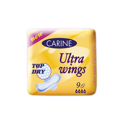 Carine ultra wings top dry  9 ks