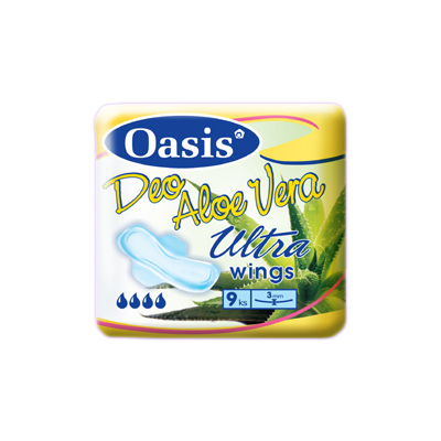 Oasis aloe vera ultra deo single 9 ks